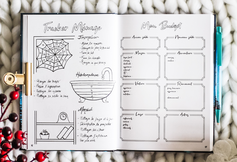 bullet journal planning trackers vie quotidienne