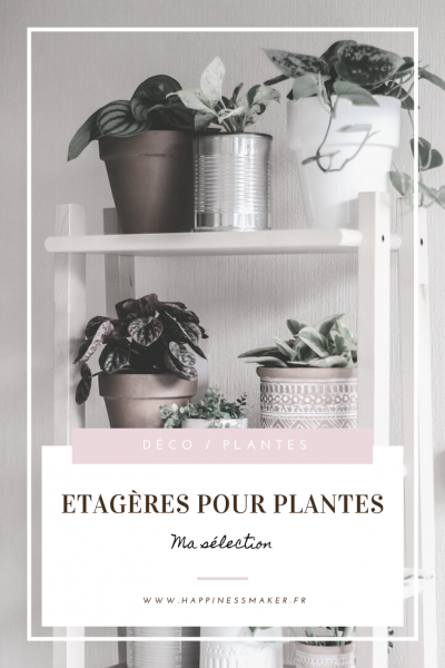 étagères pour plantes ikea casa gifi pas chères