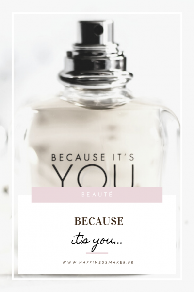 because it's you parfum emporio armani
