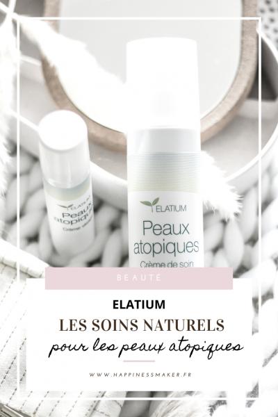 elatium soins naturels pour peaux atopiques et sensibles