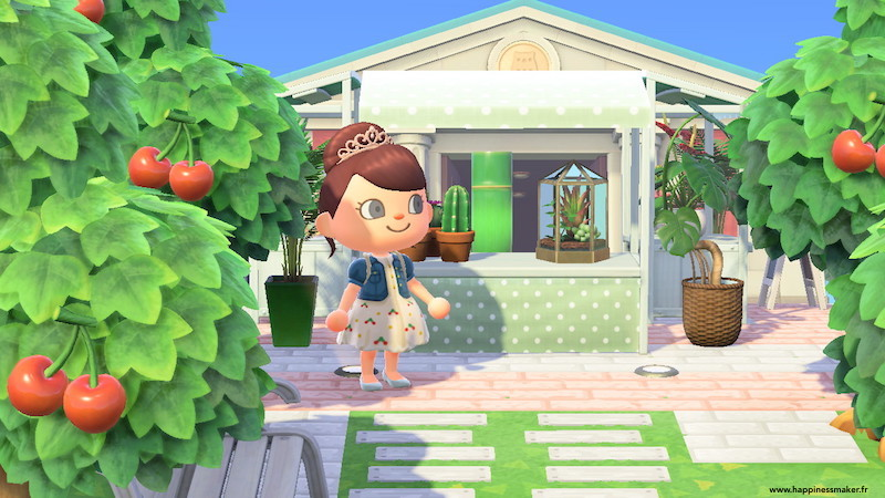 idée déco de ville animal crossing
