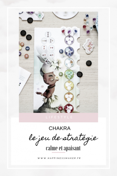 jeu de stratégie féminin Chakra avis