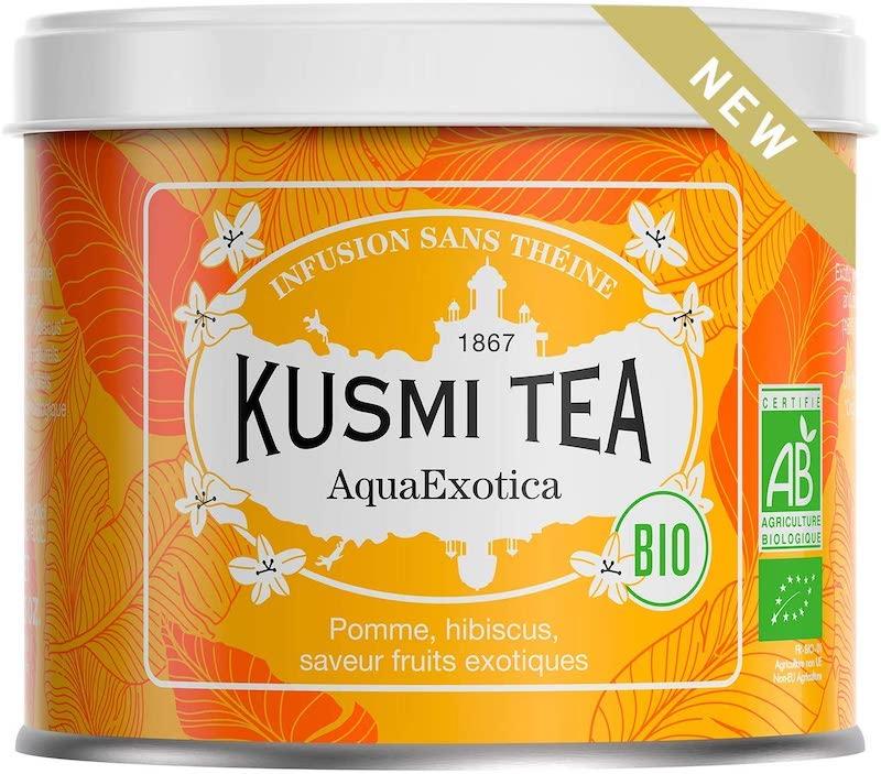 kusmi tea infusion glacée aquaexotica