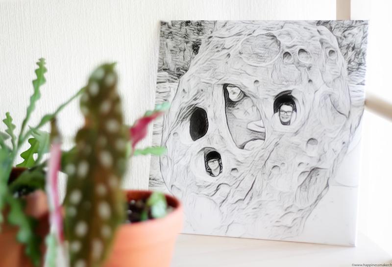 flexilivre cadre personnalise effet artistique