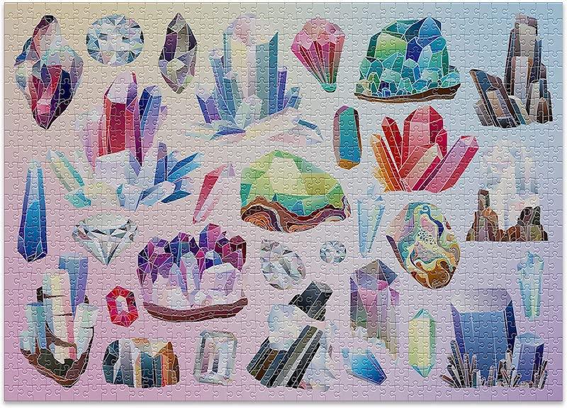 puzzle pour adulte cristaux
