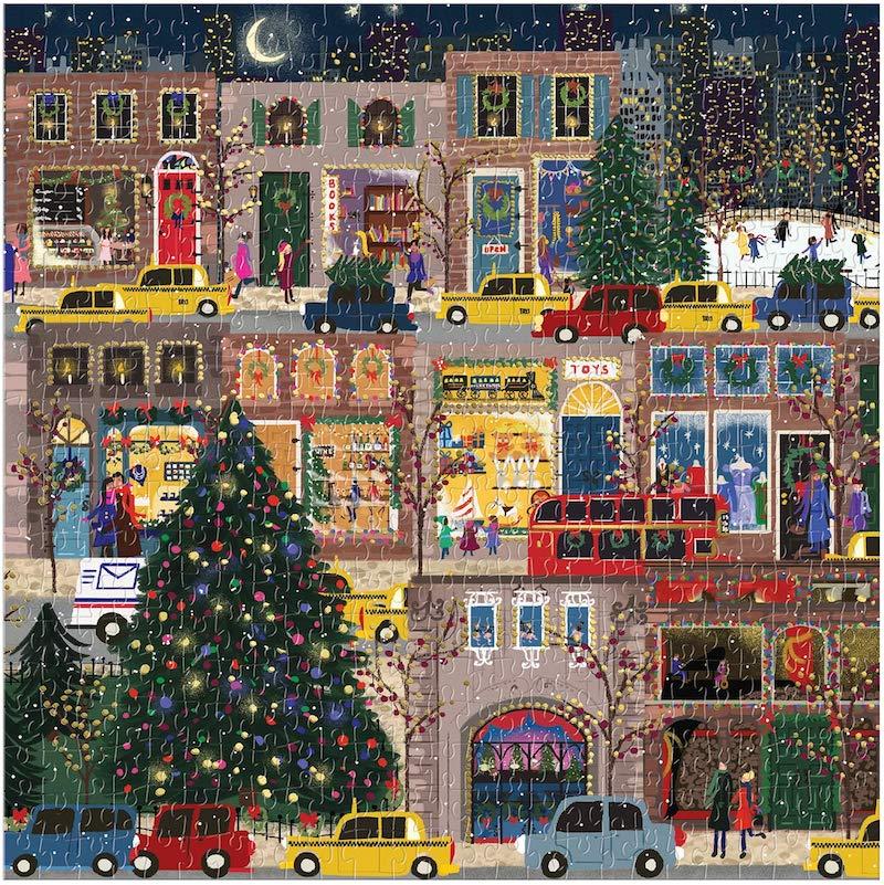 puzzle foil noel joli
