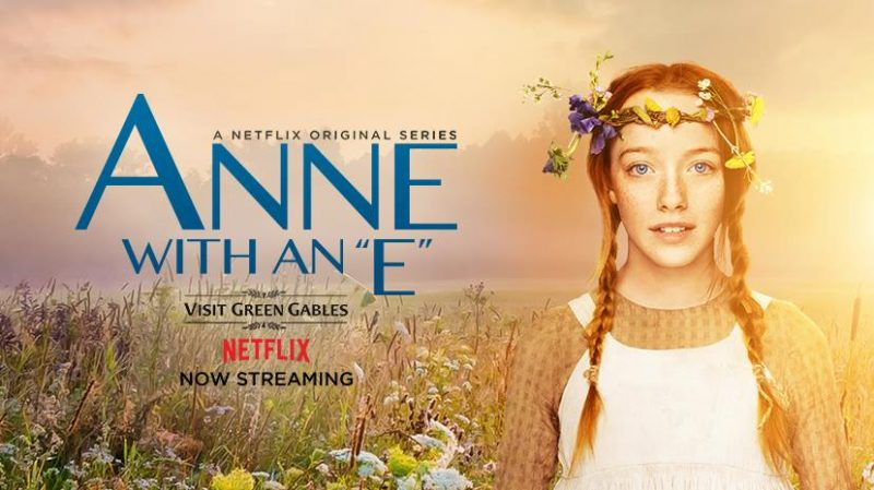 anne with an e avis série netflix