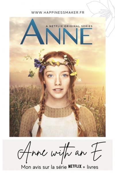 anne with an e avis série netflix saison 4 et livres en français