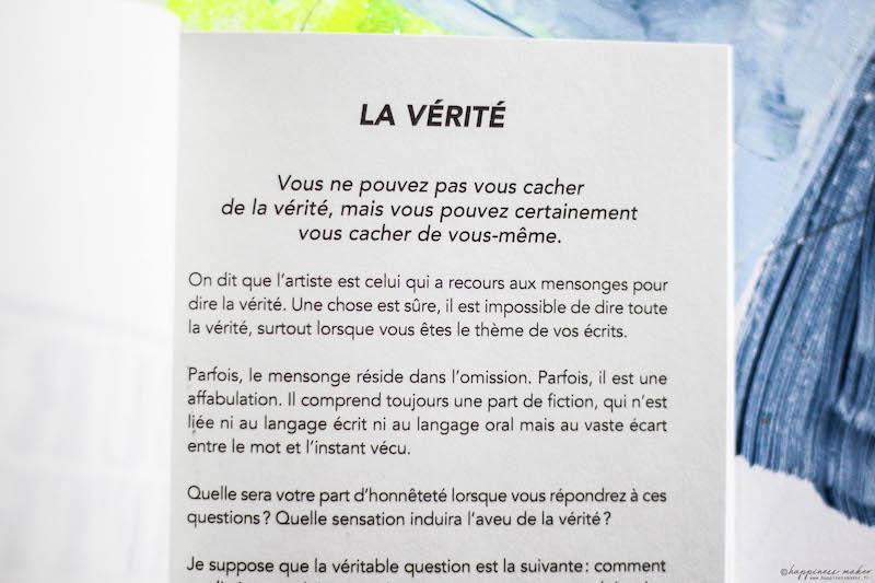burn after writing livre version française