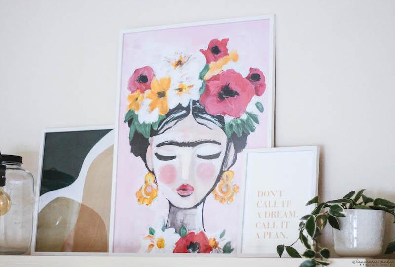 affiche frida kahlo