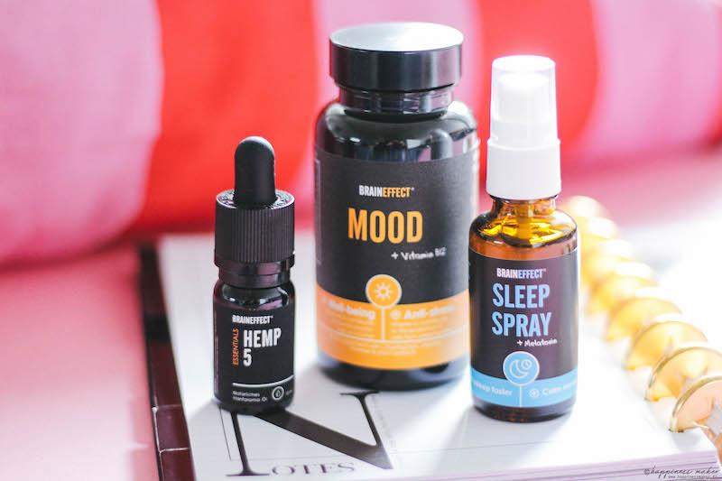braineffect avis mood CBD hemp 5 sleep spray